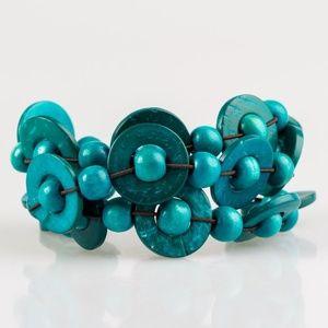 Cancun Catch - Blue Bracelet
